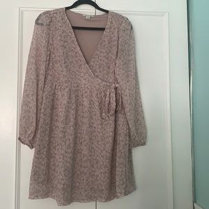 American Eagle floral wrap dress- never worn